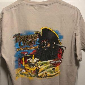 Treasure coast Harley Davidson shirt Florida